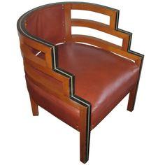 Art Deco furniture chair