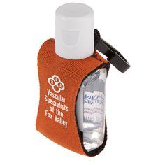 Sanitizer on a Clip