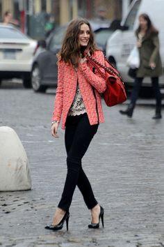 大活躍のツイードジャケットは大人っぽくとびきり可愛く着こなして♫|MERY [メリー]