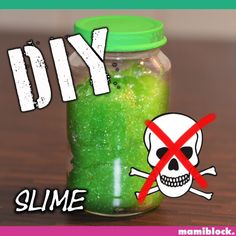 Slime itself is soo easy. Even without additives, which are not really for children. This slime has Diy Videos, Craft Videos, Diy For Kids, Crafts For Kids, Maila, How To Make Slime, Making Slime, Diy School Supplies, Diy Presents