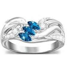 Image result for dolphin engagement ring