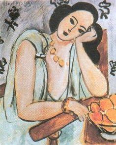 Monique Bourgeois, 1943 - Henri Matisse - WikiArt.org