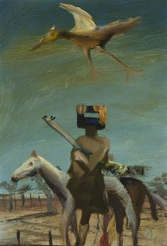 Sidney Nolan, Ned Kelly, 1955 Found on artgallery. Australian Painting, Australian Artists, Ned Kelly, Sidney Nolan, National Art, Art For Art Sake, Realism Art, Aboriginal Art, Magritte