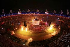 Opening Ceremony 2012 Photos: Stunning Images From The London Olympics Opening Ceremony##