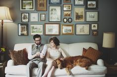 Set of photos that makes weddings look like actual, comfortable fun for all involved. Also, I'd like to move in and be friends.