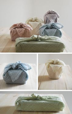 Furoshiki Packaging Trend Furoshiki: the traditional Japanese art of fabric folding, is the latest eco-friendly packaging idea to transport clothes, gifts and goods.
