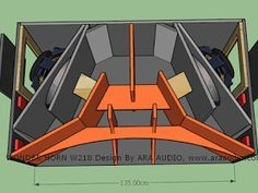 Kumpulan Box Horn Bass Jauh dan Nendang Subwoofer Box Design, Speaker Box Design, Sub Box Design, Speaker Plans, Diy Speakers, Car Audio, Planer, Horns, Outdoor Gear