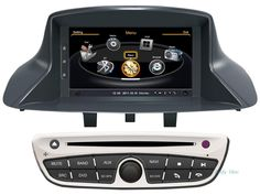 7 inch car video player for Renault Megane III 3/ Renault Fluence car dvd gps navigation with steering wheel free Map