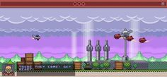 Lily Fighters - strong retro styled retro side scroll shooter #game,  R-Type flavour :)