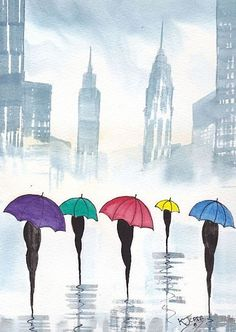 Rainy Day New York ~ BY KJ CARR