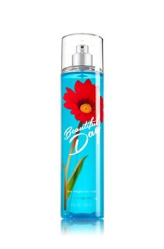 Beautiful Day - Fine Fragrance Mist - Signature Collection - Bath & Body Works - The fragrance you love with an all new look! Lavishly splash or lightly spritz, either way you'll fall in love at first mist. Our carefully crafted bottle and sophisticated pump delivers great coverage while conditioning aloe mist nourishes skin for the lightest, most refreshing way to fragrance!