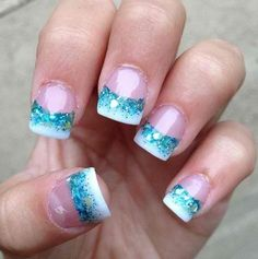 acrylic nails french manicure