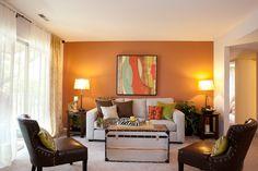 Township Square Apartments, Saginaw Township, MI -living room