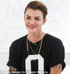 Ruby Rose has underwear thrown at her while DJing in the US | Daily Mail Online