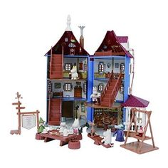 Moomin House (with a handle / Doll House)