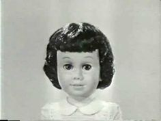 Vintage Chatty Cathy toy doll TV Commercial 1960's