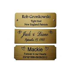 Mackie Front Logo Label Plate
