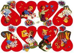 Valentine Glanzbilder