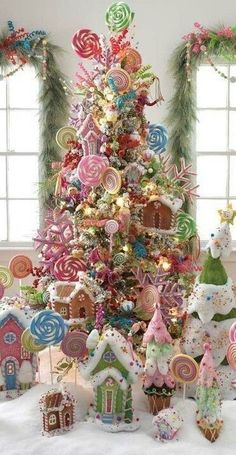 Best Christmas tree decor ideas & inspirations for 2019 - Hike n Dip Make your Christmas decorations special with the best Christmas tree decor ideas. These inspiring Christmas trees are the perfect decor for the holidays. Blue Christmas, Candy Land Christmas, Cool Christmas Trees, Christmas Holidays, Christmas Wreaths, Merry Christmas, Whimsical Christmas, Christmas Island, Vintage Christmas