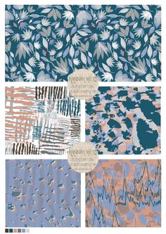 Pattern Designs, Surface Pattern Design, Patterns, Design Lab, Student Work, Textile Design, New Work, Challenges, Textiles