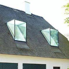 See our site for much more involving this surprising skylight roof Dormer Windows, Windows And Doors, Atrium, Modern Skylights, Country Modern Home, Timber Ceiling, Balkon Design, Roof Extension, Roof Window