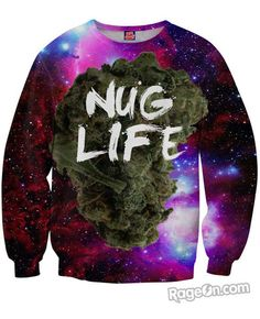 Nug Life Sweatshirt *Ready to Ship* - RageOn! - The World's Largest All-Over-Print Online Store