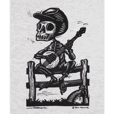 Fiddlebones 3xlarge Skeleton Banjo Tshirt Calavera Banjer Bones ($22) ❤ liked on Polyvore featuring plus size fashion, plus size clothing, plus size tops, plus size t-shirts, silver, t-shirts, tops, women's clothing, gray tee and gray top