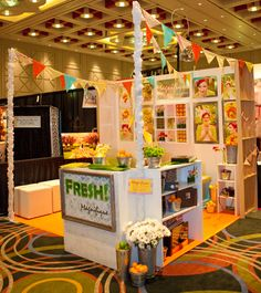 Like using a word to describe the business. Theme specific for bridal show.