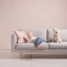 Meidän perheessä on aina tehty huonekaluja. Me uskomme, että yhdistämällä… Cosy Sofa, Nordic Design, Dream Bedroom, Furniture Collection, Scandinavian Style, Sofas, Sweet Home, Sofa Ideas, Sleep Well