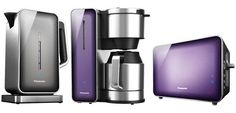 Panasonic Breakfast Collection: A New Line Of Stylish, Small Appliances For The Kitchen