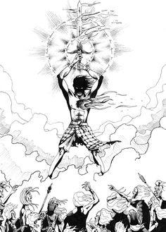 El príncipe prometido - Álvaro Peñalver - #ProyectoGolem - Ilustraciones de #Fantasía