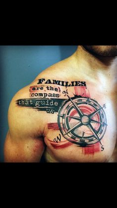 Moral compass tattoo?
