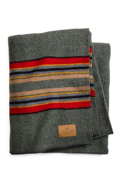 Pendleton Yakima Camp Blanket Green Heather