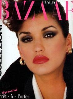 Janice Dickinson Harpers Bazaar 1984