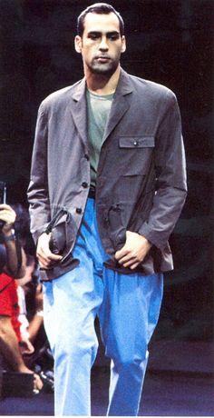 Yohji Yamamoto Menswear Spring/Summer 1990