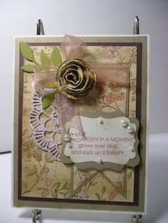 Mojo Anniversary by MeeMaw8 - Cards and Paper Crafts at Splitcoaststampers