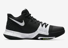 798513f06ac 2017 New Release Nike Kyrie 3 Tuxedo Black White For Sale