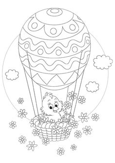 20 Printable Easter-Themed Coloring Pages for Kids
