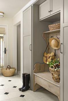 Cozy cabinetry - ELLEDecor.com