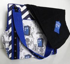 The ULTIMATE Whovian Baby Gift Set  TARDIS by BrookeVanGoryDesigns, $89.99