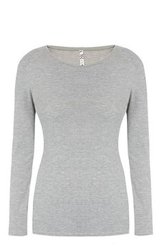 Long sleeves. Crew neckline. Regular fit.<BR><BR>Fabric Content:<BR>95% Cotton / 5% Elastane-knitted<BR><BR>Wash Care:<BR>Machine washable