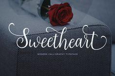 Sweetheart Script (40% Off) by Unicode on @creativemarket