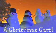 A Christmas Carol Machinima Film ( http://www.youtube.com/watch?v=S9SBebs3A5I )