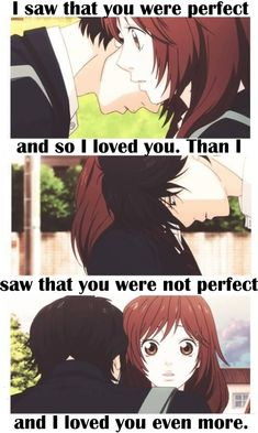 Anime Couples I ship them full on. Anime/manga: Ao Haru Ride (Blue Spring Ride) [Kou Mabuchi x Futaba Yoshioka] Sad Anime Quotes, Manga Quotes, Funny Love, Cute Love, Futaba Y Kou, Futaba Yoshioka, Blue Springs Ride, Anime Triste, Cute Anime Couples