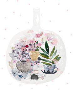 Garden in a bottle by Danse De Lune