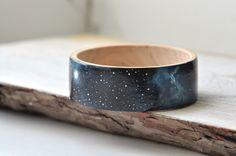 Dark blue bracelet Galaxy bangle black Space jewelry Сhristmas gift ideas Navy blue bracelet Wooden bracelet Fashion jewelry Trending gift by MagicTwirl on Etsy https://www.etsy.com/nz/listing/197650677/dark-blue-bracelet-galaxy-bangle-black