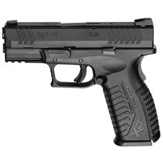 Springfield Armory XD(M) 3.8 Semi Automatic Pistol 9mm Luger 3.8 Barrel 19 Round Capacity Polymer Grips Black Melonite Finish XDM9389BHC