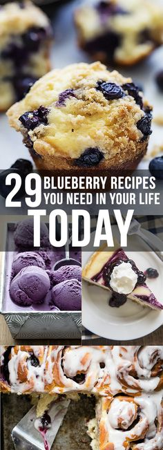 29 Spectacular Ways To Eat Fresh Blueberries This Summer
