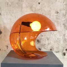 Foglia desk lamp by Elio Martinelli for Martinelli Luce, 1970s