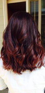 Popular hair color trend